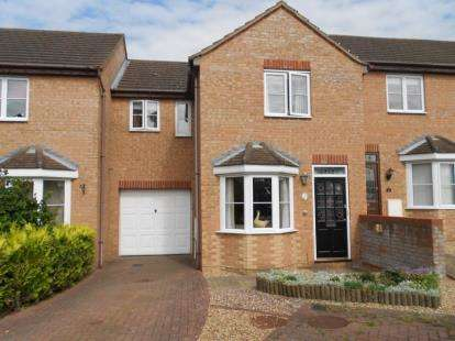 3 Bedrooms Terraced House for sale in Odin Close, Bedford, Bedfordshire