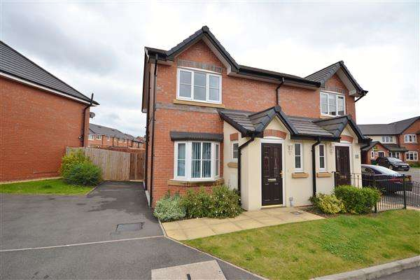 3 Bedrooms Semi Detached House for sale in Murrayfield Close, Chorley