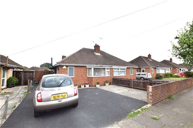 2 Bedrooms Semi Detached Bungalow for sale in Brooklyn Gardens, CHELTENHAM, Gloucestershire, GL51 8LP