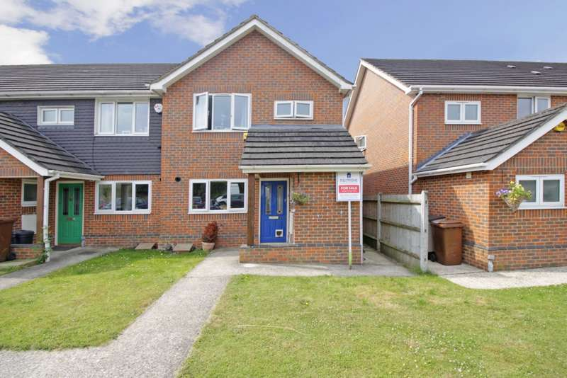 3 Bedrooms End Of Terrace House for sale in Vicarage Road, Halling, ME2