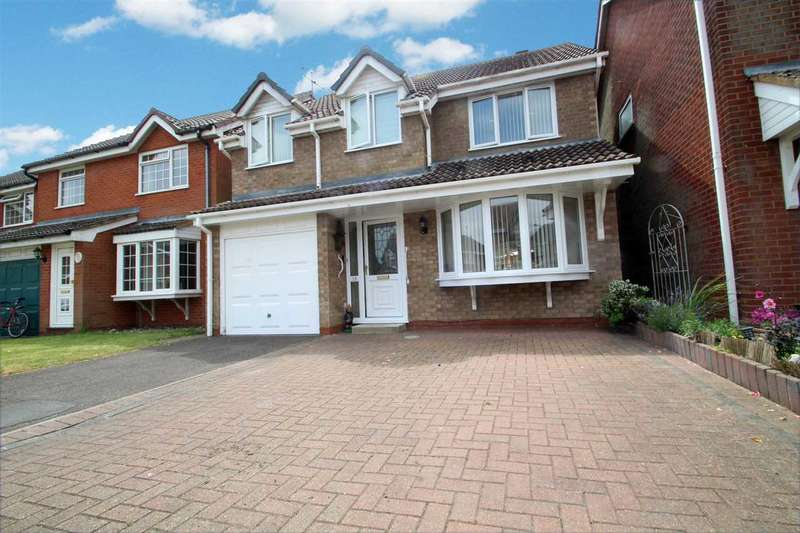 4 Bedrooms Detached House for sale in Upsons Way, Kesgrave