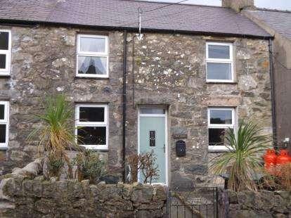 2 Bedrooms Terraced House for sale in Llithfaen, Pwllheli, Gwynedd, LL53