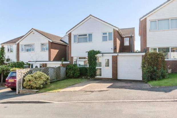 4 Bedrooms Detached House for sale in Bickleigh Close, Pinhoe, Exeter, Devon