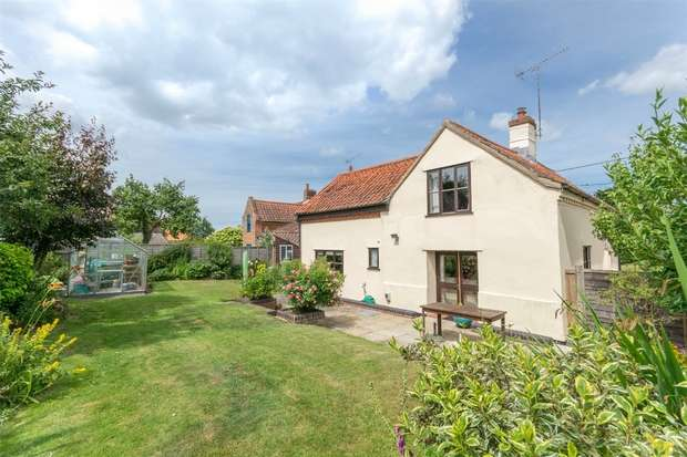 3 Bedrooms Detached House for sale in Pear Tree Cottage, Little Snoring