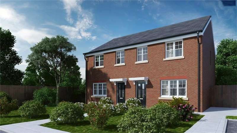 3 Bedrooms Town House for sale in Vicarage Gardens, Platt Bridge, Wigan, Lancashire