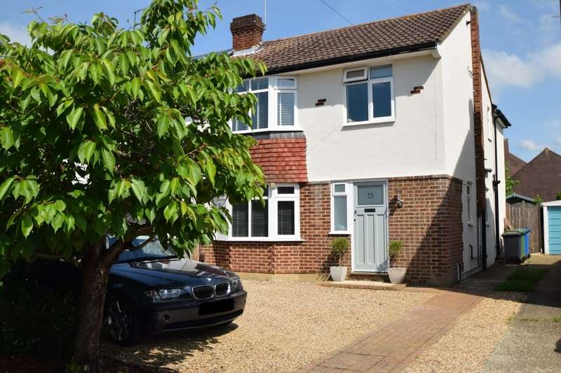 4 Bedrooms Semi Detached House for sale in Carter Close, Windsor, SL4