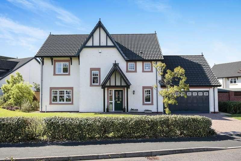 5 Bedrooms Detached House for sale in Queensberry Gardens, Powfoot, Annan, DG12
