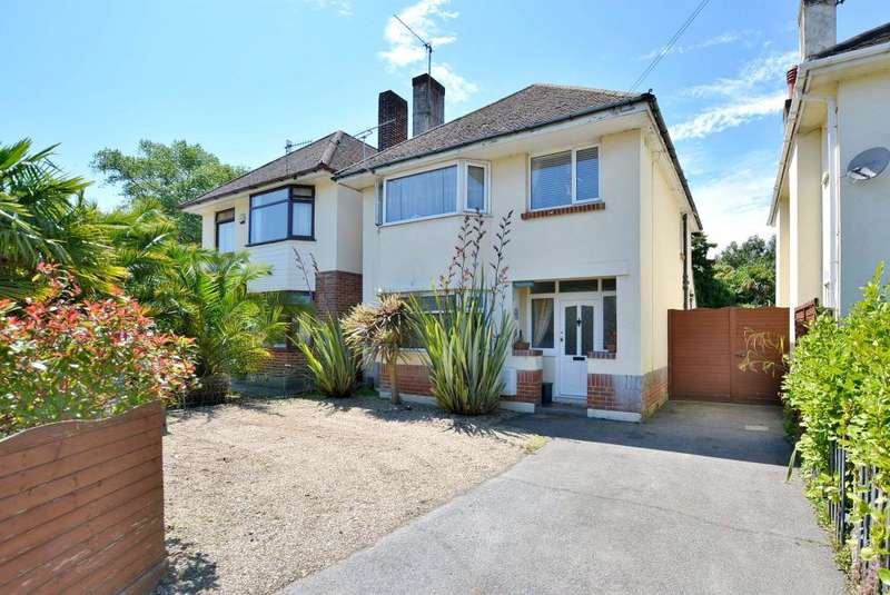 3 Bedrooms Detached House for sale in Whitecliff, Poole BH14