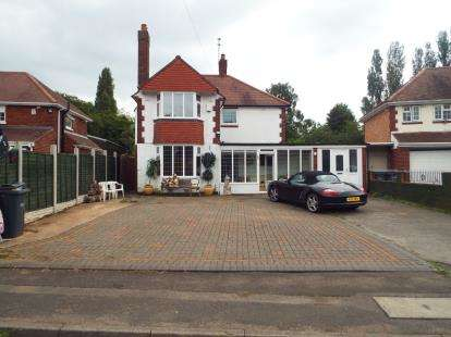 4 Bedrooms Detached House for sale in Ray Hall Lane, Birmingham, West Midlands