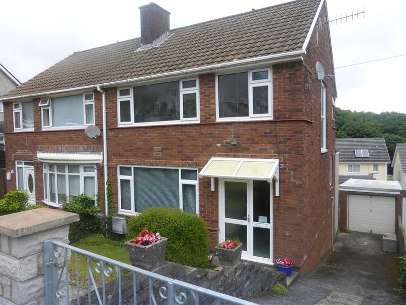 3 Bedrooms Semi Detached House for sale in Cwmgelli Close, Treboeth, Swansea