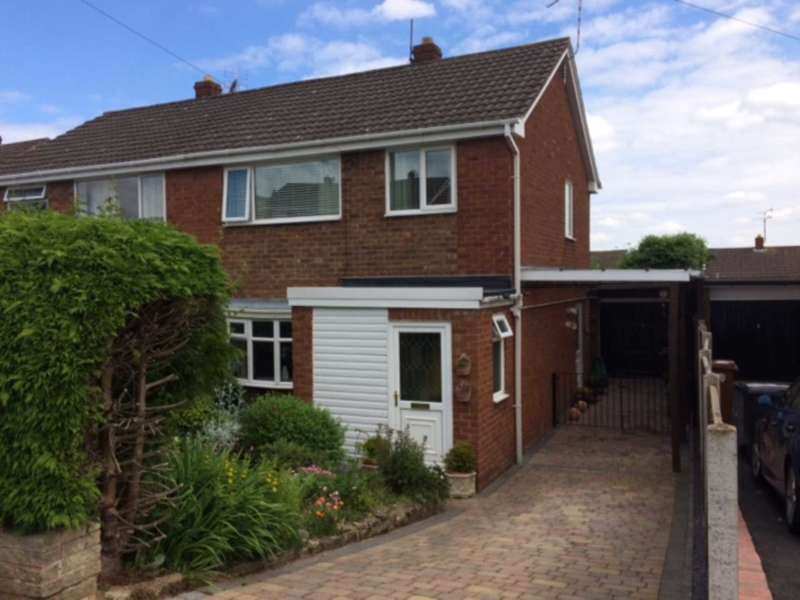 3 Bedrooms Semi Detached House for sale in Pen Y Maes, Buckley, Flintshire. CH7 2QD