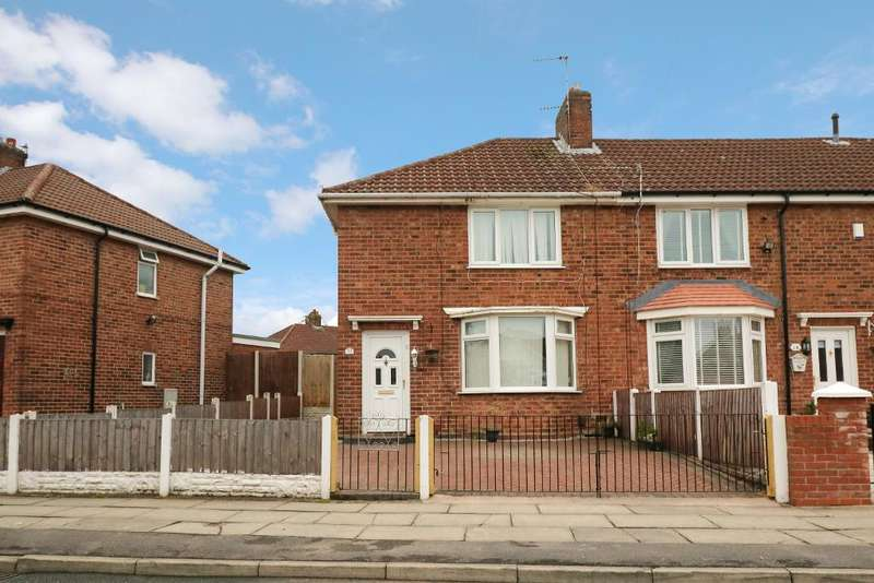 3 Bedrooms End Of Terrace House for sale in Drake Crescent, Fazakerley, Liverpool, L10 7LS