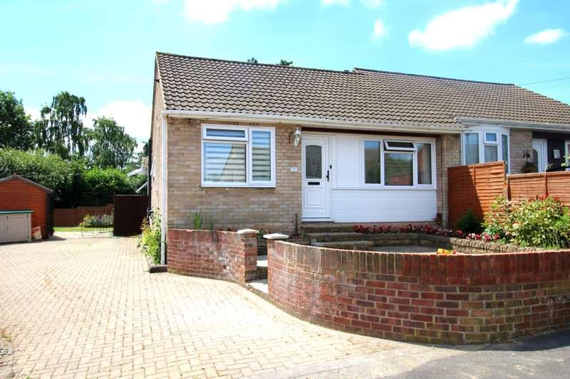 2 Bedrooms Semi Detached Bungalow for sale in Ambledale, Sarisbury Green, Southampton, SO31