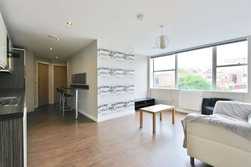 2 Bedrooms Flat for rent in Wellington House, Wellington Street, Sheffield, S1 4HF