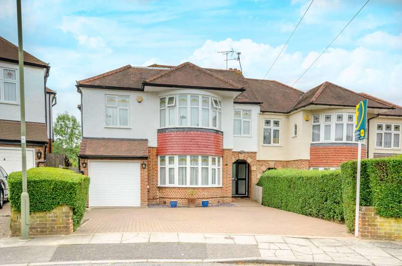 5 Bedrooms Semi Detached House for sale in Mount View, Mill Hill, NW7