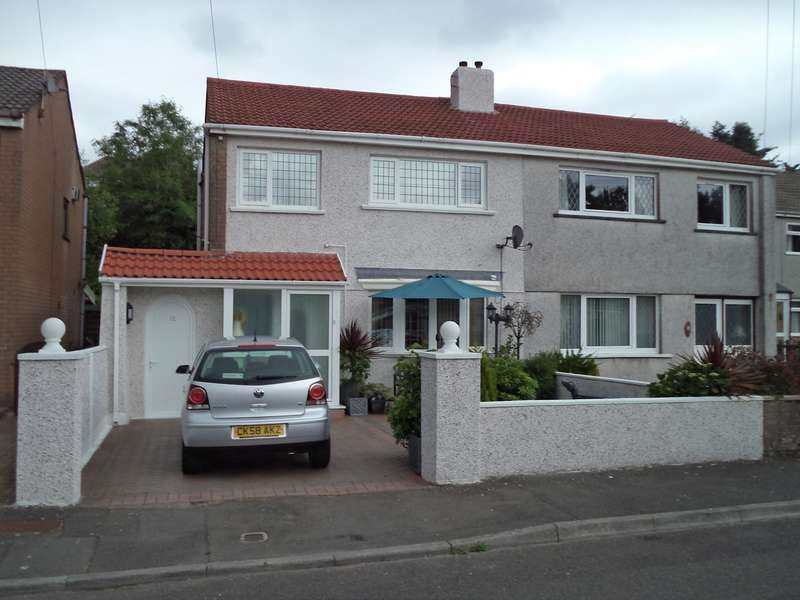 3 Bedrooms Semi Detached House for sale in Garth Danybryn, Beaufort, Ebbw Vale, NP23