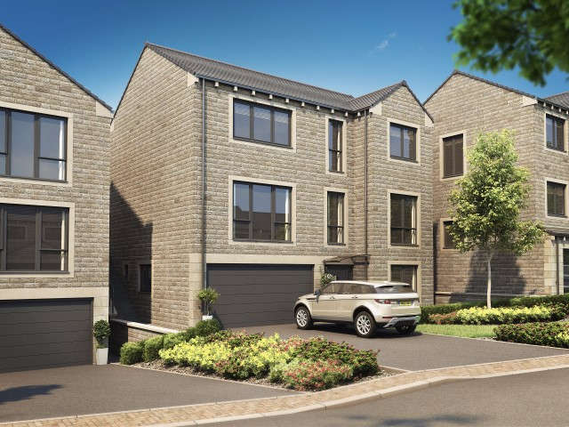 4 Bedrooms Detached House for sale in The Bellingham Pennine Close, Upperthong, Holmfirth, HD9