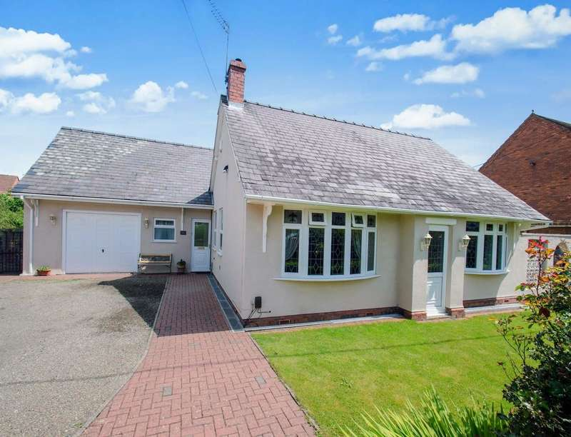 3 Bedrooms Detached Bungalow for sale in A Shrubbery Road, Red Lake, Telford, TF1