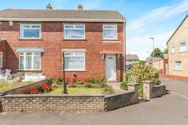 3 Bedrooms Semi Detached House for sale in Windermere Crescent, Blaydon-On-Tyne, NE21