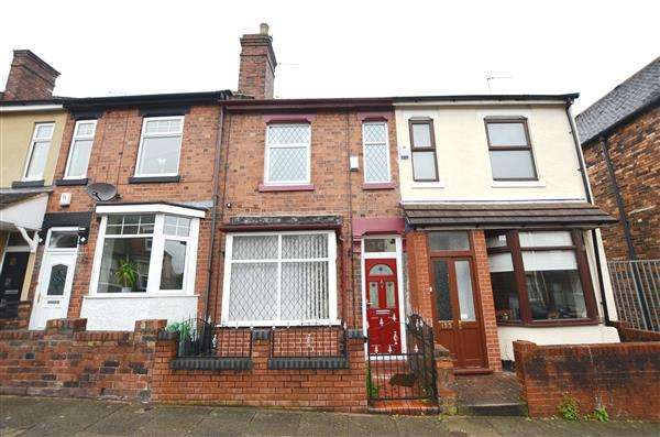 2 Bedrooms Terraced House for sale in Smithpool Road, Fenton, Stoke-On-Trent