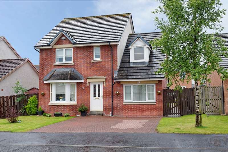4 Bedrooms Detached House for sale in Parkholm Drive, Glasgow, G53 7WR