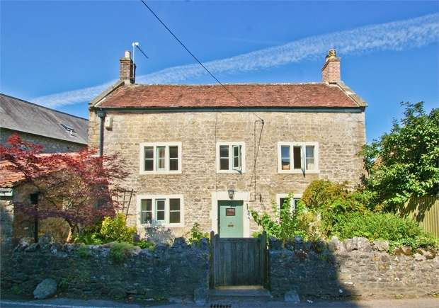 4 Bedrooms Cottage House for sale in Mendip Road, Stoke St Michael, RADSTOCK, Somerset