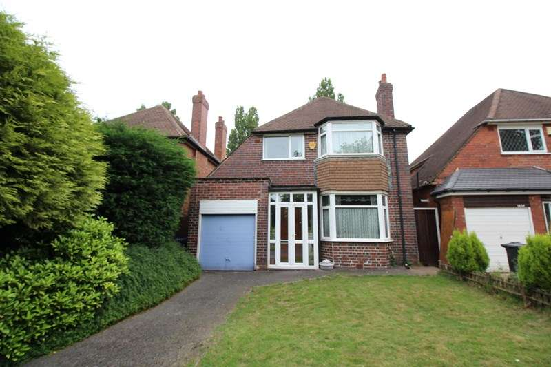 3 Bedrooms Detached House for sale in Stratford Road, Hall Green, Birmingham