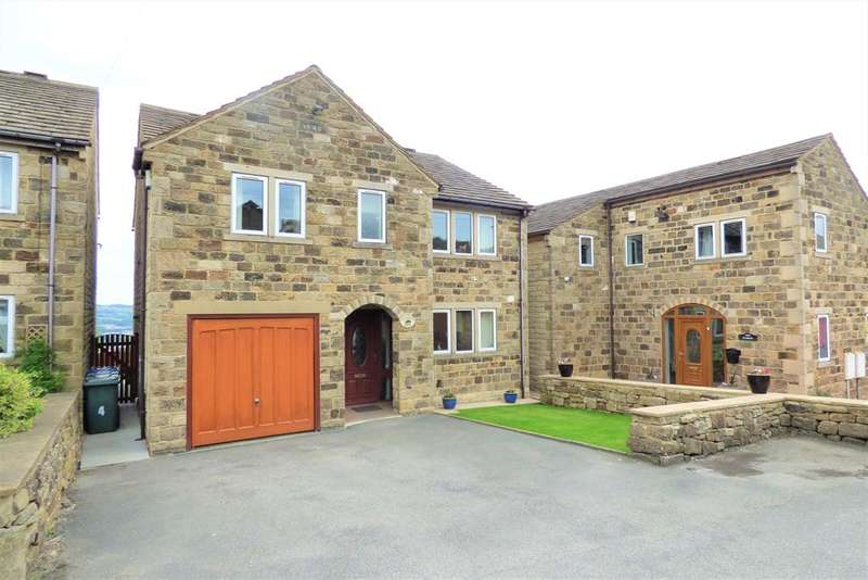 5 Bedrooms Detached House for sale in High Shann Farm, Broadlands, Keighley, BD20 6HG