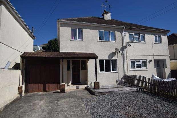 3 Bedrooms Semi Detached House for sale in All Hallows Road, Preston, Paignton, Devon