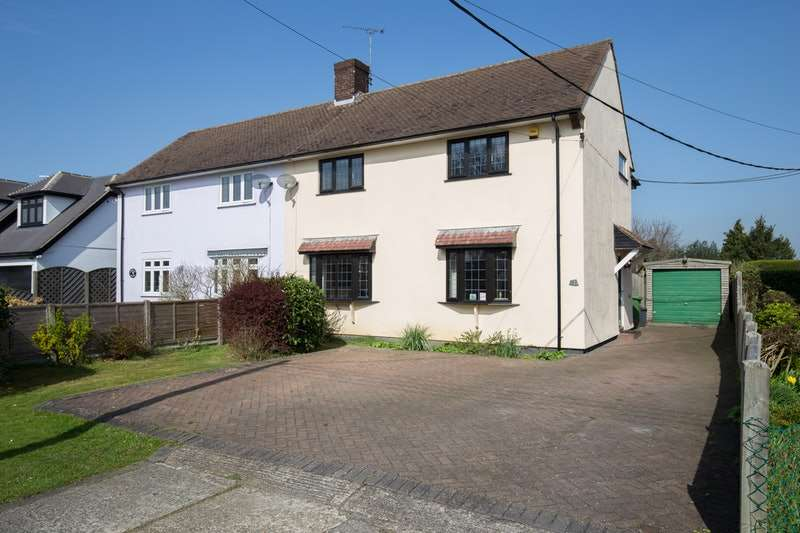 3 Bedrooms Semi Detached House for sale in Coxtie Green Road, Brentwood, Essex, CM14