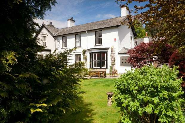 4 Bedrooms Semi Detached House for sale in Ben Place, Grasmere, Ambleside, Cumbria