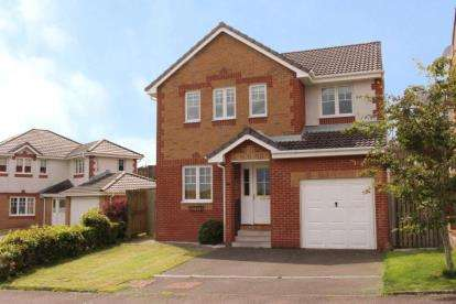 4 Bedrooms Detached House for sale in Caaf Close, Dalry