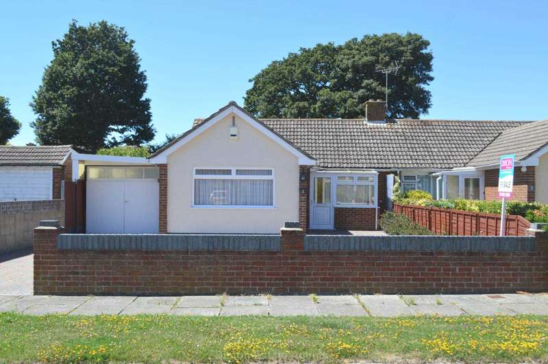 3 Bedrooms Semi Detached Bungalow for sale in Jerram Close, Alverstoke
