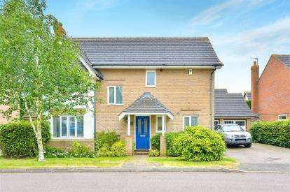 4 Bedrooms Detached House for sale in Thrupp Close, Castlethorpe, Milton Keynes, Bucks