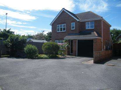 3 Bedrooms Detached House for sale in Fairoak Close, Winsford, Cheshire, England
