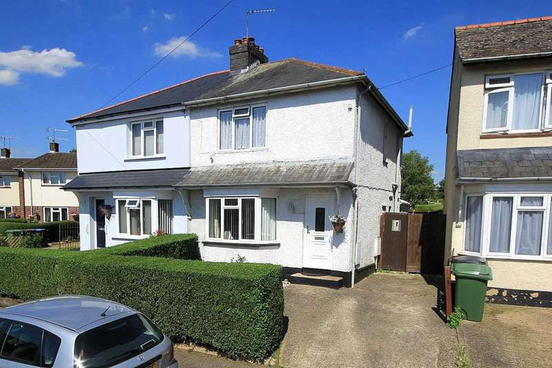 2 Bedrooms Semi Detached House for sale in 2 DOUBLE Bed House with Approx 80` REAR GARDEN, Wood Crescent