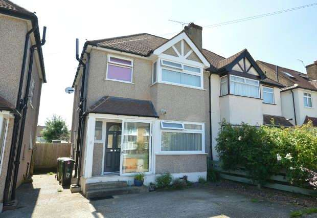 4 Bedrooms Semi Detached House for sale in Cherry Way, West Ewell