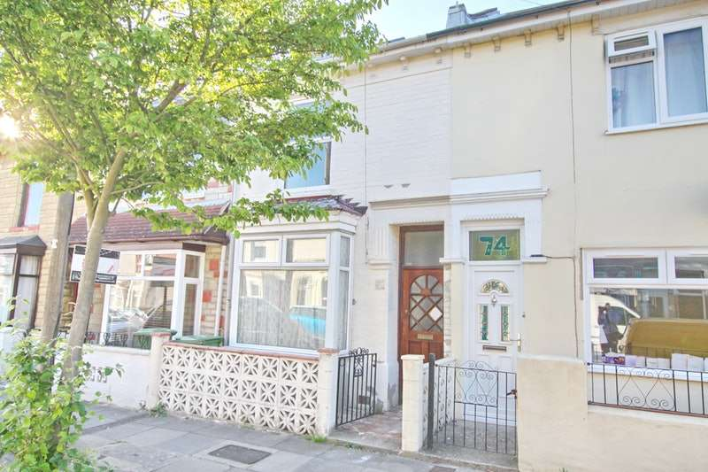 3 Bedrooms Terraced House for sale in jervis road, portsmouth, Hampshire, PO2