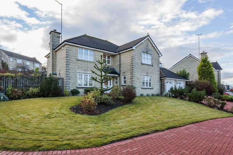 4 Bedrooms Detached House for sale in Antonine Road, Dullatur, Glasgow, G68 0FE