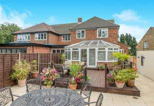 4 Bedrooms Semi Detached House for sale in Sharfleet Drive, Rochester, Kent, .