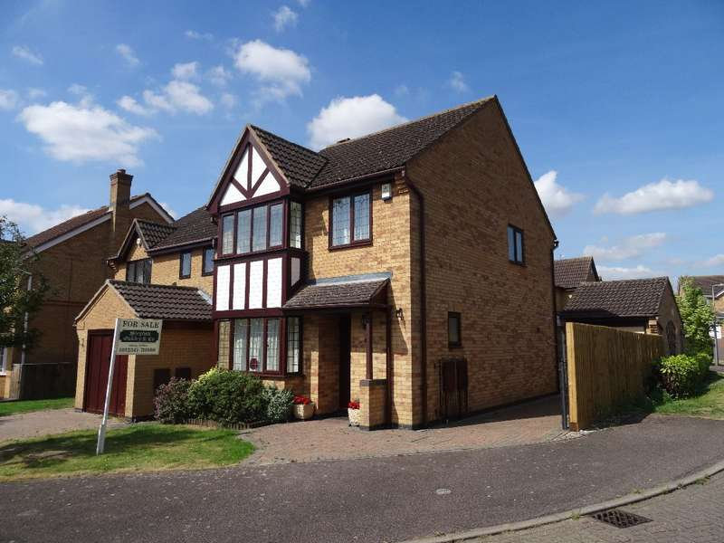 3 Bedrooms Detached House for sale in HOLLOW WOOD, OLNEY