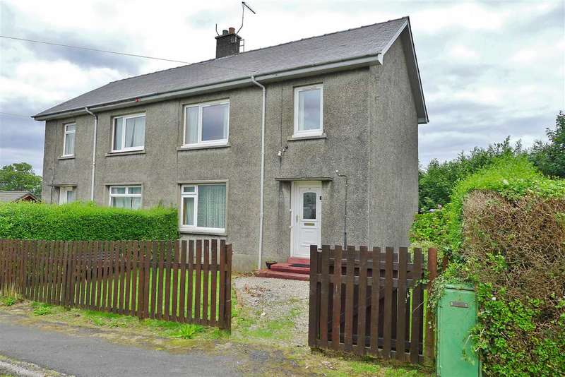 3 Bedrooms Semi Detached House for sale in Hillview Place, Brodick