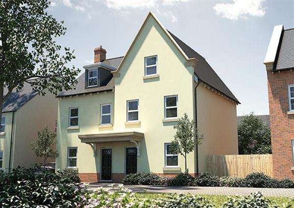 3 Bedrooms Semi Detached House for sale in The Holnicote, Seabrook Orchard, Exeter