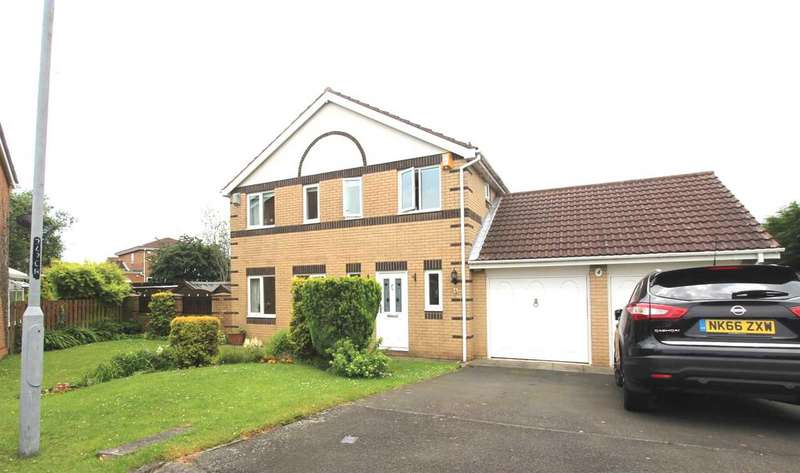 4 Bedrooms Detached House for sale in Carmel Grove, Northburn Dale, Cramlington