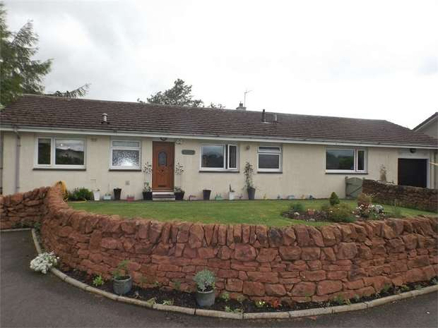 3 Bedrooms Detached Bungalow for sale in Vendace Drive, Lochmaben, Lockerbie, Dumfries and Galloway