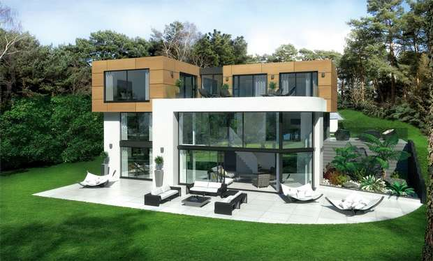 4 Bedrooms Detached House for sale in Imbrecourt, Canford Cliffs, Poole, Dorset