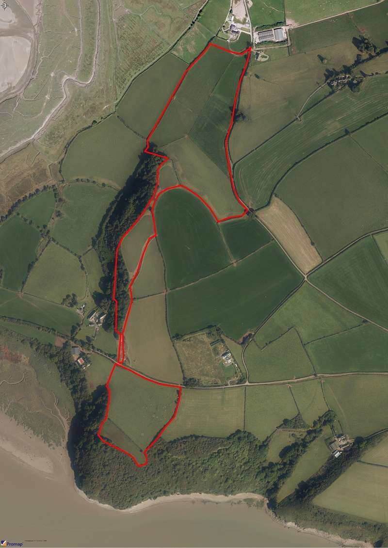 Land Commercial for sale in Land at Mwche Farm Llanybri, Carmarthen, Carmarthenshire. SA33 5HH
