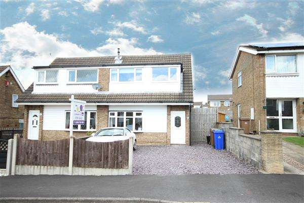 3 Bedrooms Semi Detached House for sale in Soames Crescent, Stoke-on-Trent