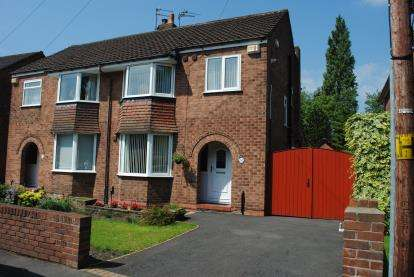 3 Bedrooms Semi Detached House for sale in Cuthbert Road, Cheadle, Greater Manchester