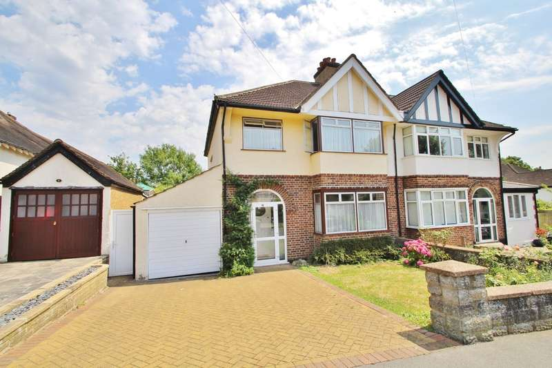 3 Bedrooms Semi Detached House for sale in Courtlands Road, Surbiton